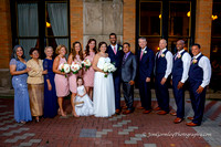 Allie and Dwane Rocha Wedding September 22, 2017 at Backstage Event Center, Cincinnati, OH