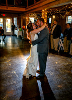 Entrance, Dances, Bouquet and Garter Toss, Cake Cutting